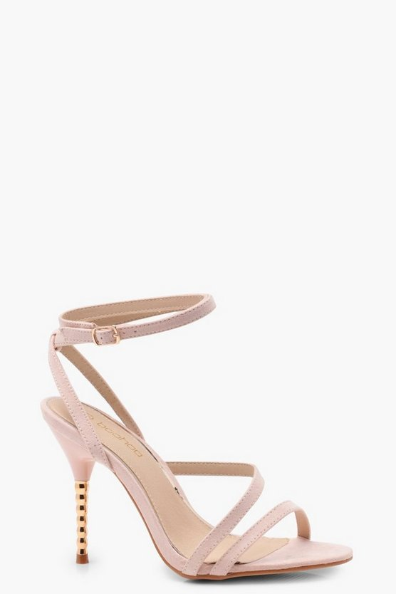 Hannah Feature Wrap Strap Heels