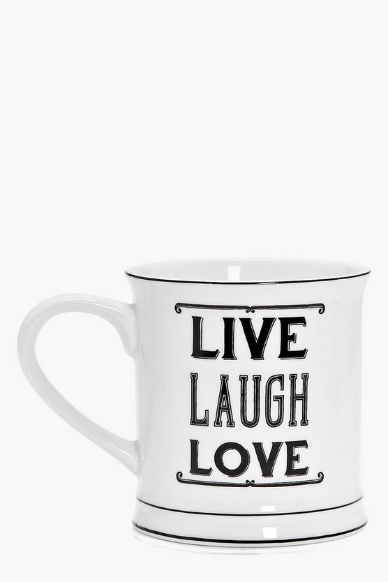 Amber Live Laugh Love Mug