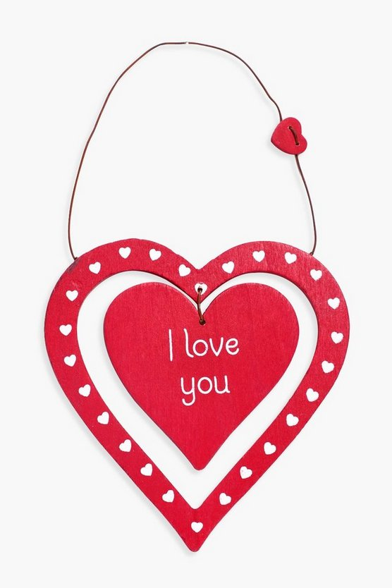 Alice I Love You Plaque