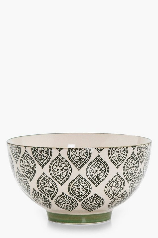 Holly Moroccan Tile Print Bowl