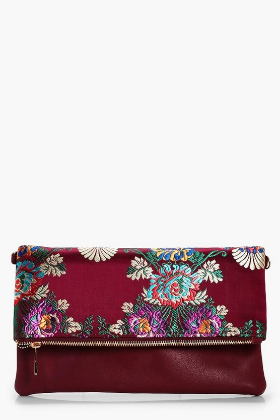 Steph Oriental Clutch Bag
