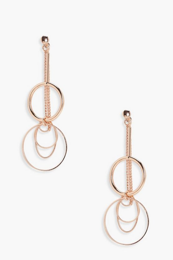 Brontie Layered Hoop Earrings