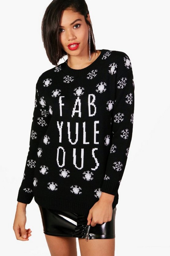 Charlotte Fab-Yule-Ous Christmas Jumper