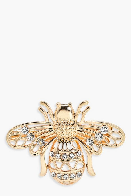 Yasmin Diamante Bee Hair Clip