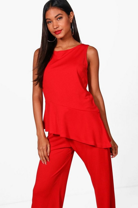 Bella Asymmetric Tailored Top