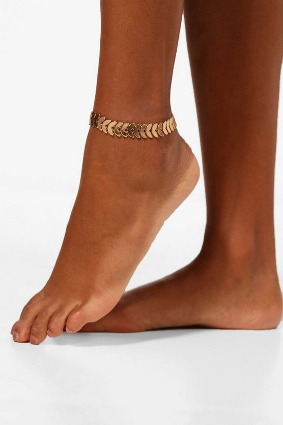 Leaf Chain Anklet