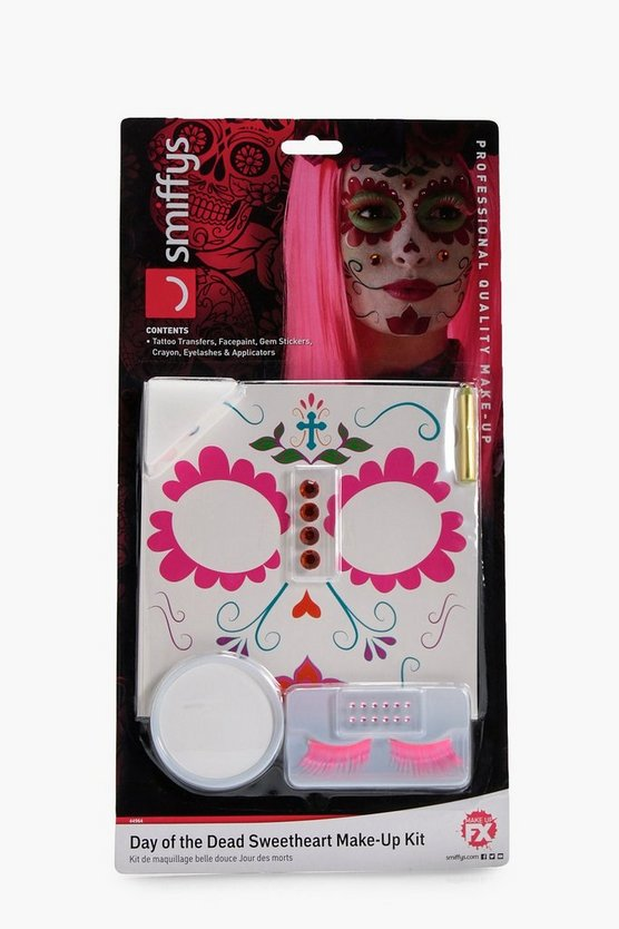 Day of the Dead Sweetheart Make Up Set