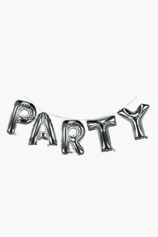 Party Balloon Banner