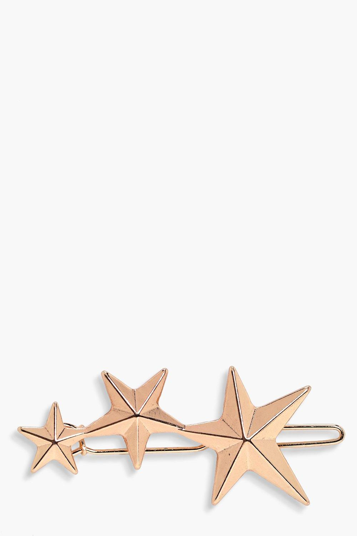 Shooting Star Hair Clip - gold