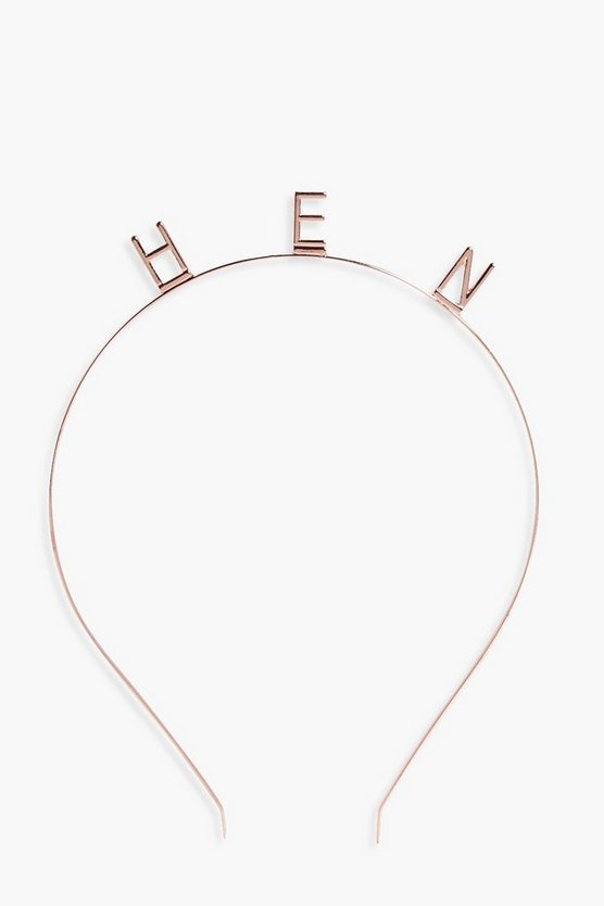 Lauren Hen Slogan Headband