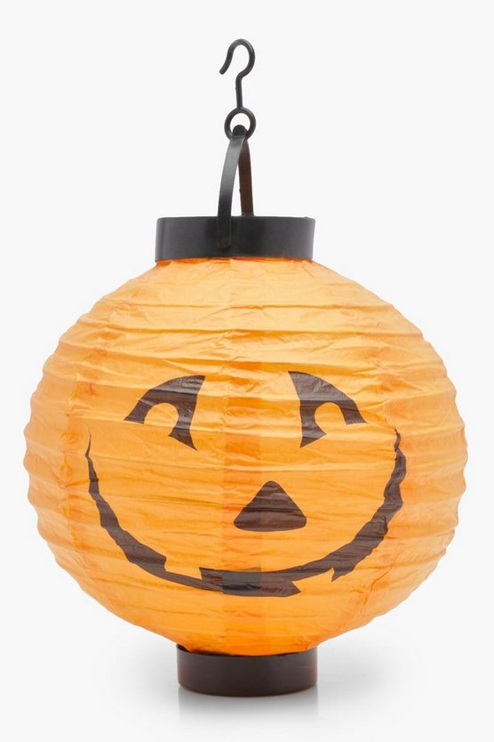 Light Up LED Paper Pumpkin