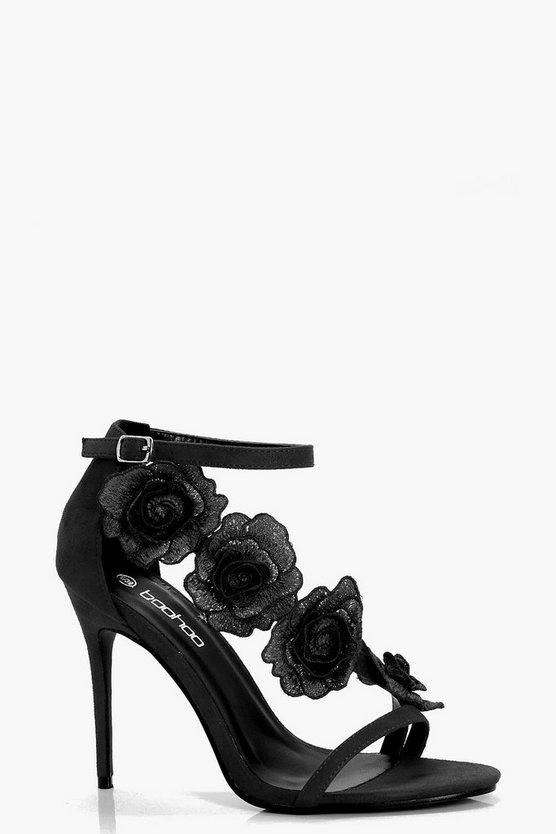 Elizabeth Rose Cross Strap Heels
