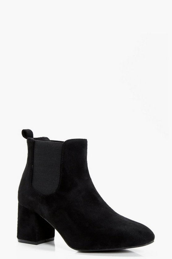 Daisy Low Block Heel Chelsea Boot