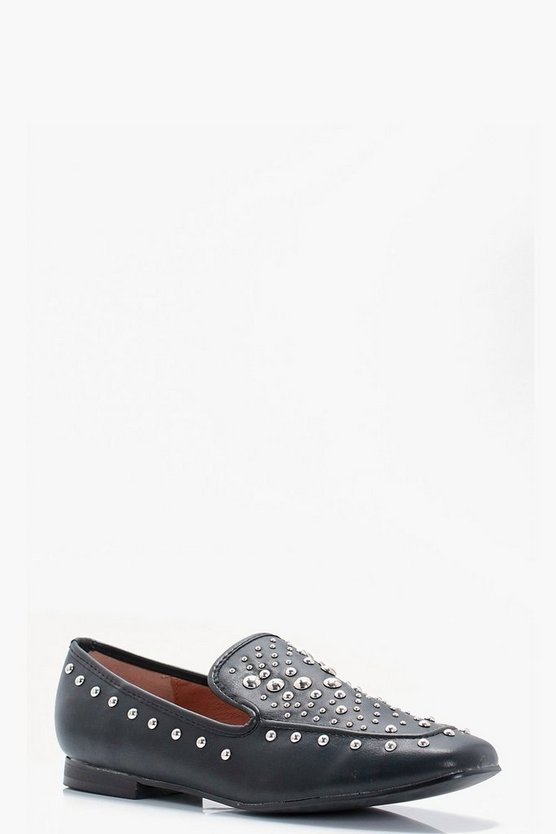 Evie Multi Stud Loafers