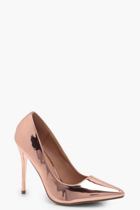 Ava Pointed Stiletto Courts