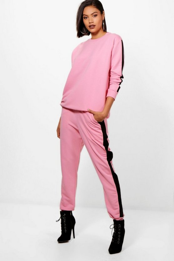 Lois Athleisure Stripe Side Tracksuit