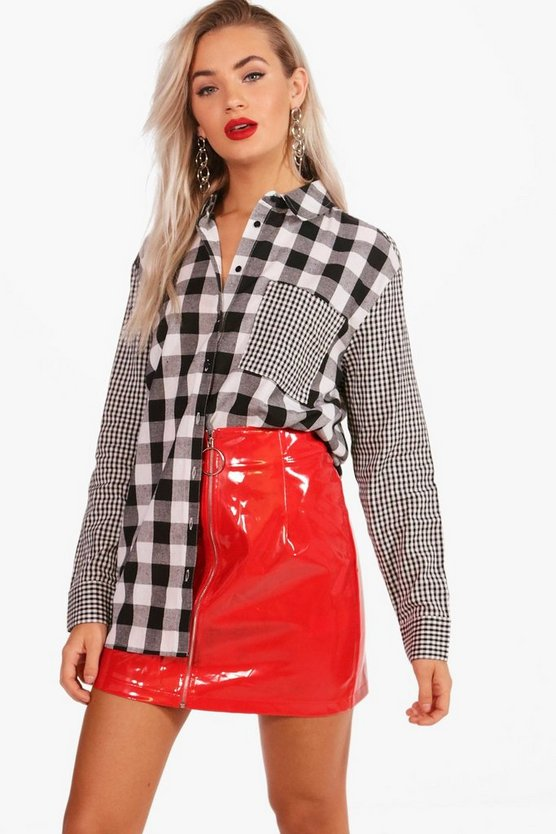 Georgia  Mixed Checked Shirt