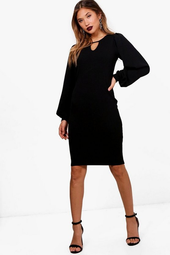 Stephanie Puff Sleeve Dress