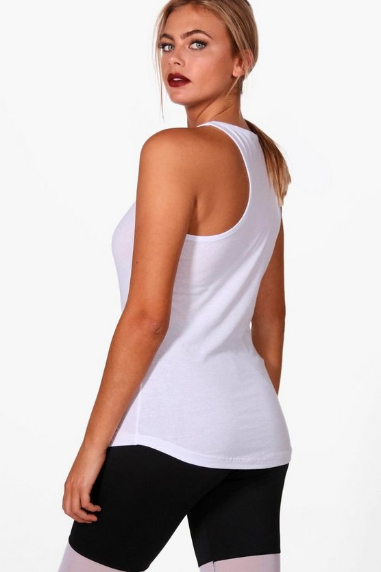 Sarah Fit Racer Back Vest