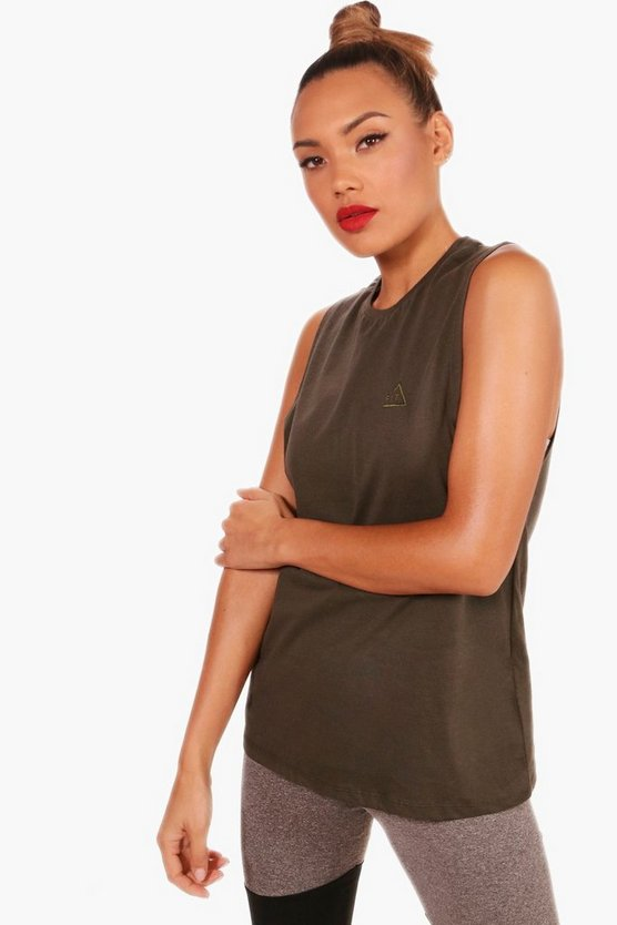 Amelia Fit Sleeveless T-Shirt