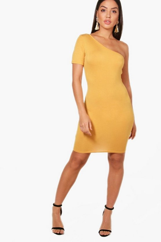 Indi One Shoulder Bodycon Dress
