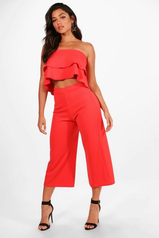 Dina Double Bandeau Top & Culotte Co-Ord