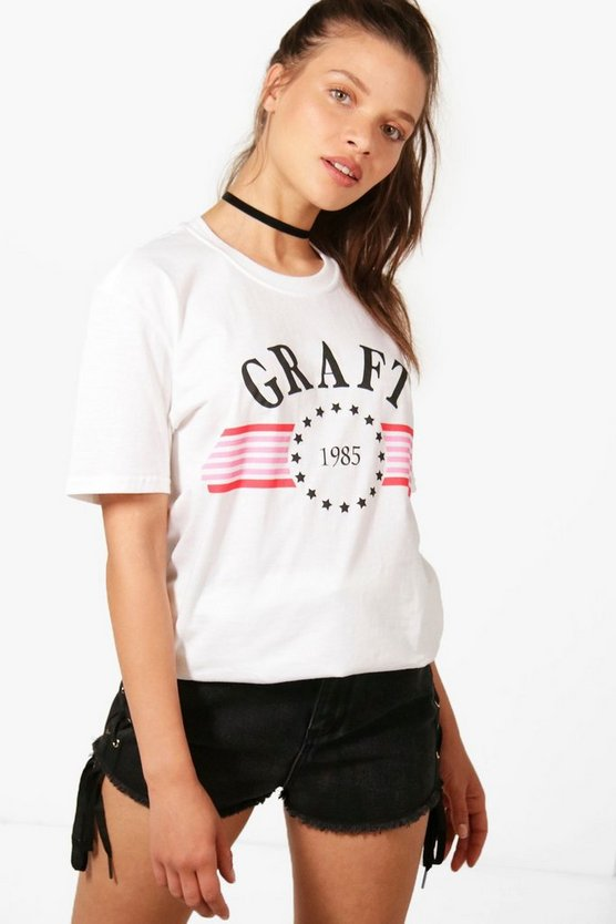 Graft Slogan Tee