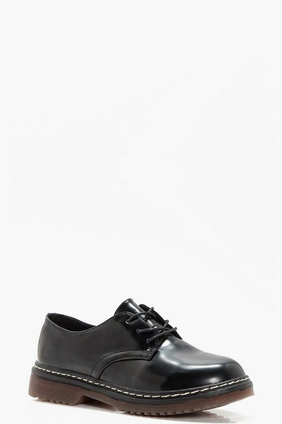 Jemima Chunky Lace Up Brogue