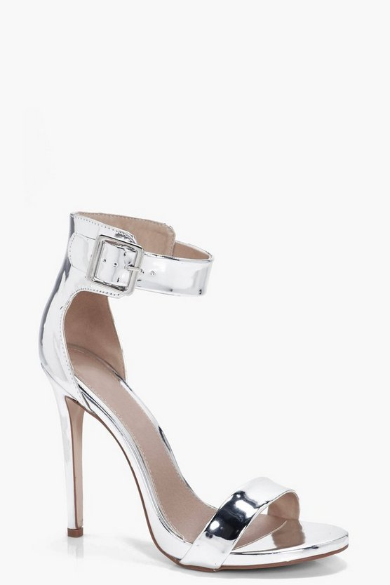 Katherine Metallic 2 Part Heels