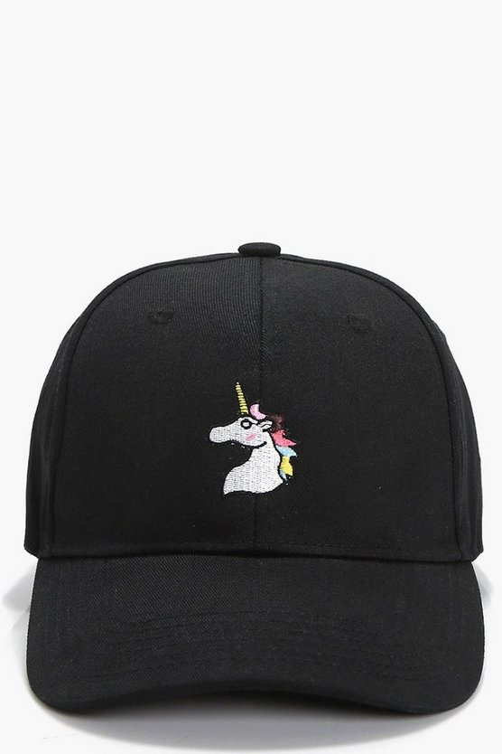 Ellie Unicorn Badge Baseball Cap