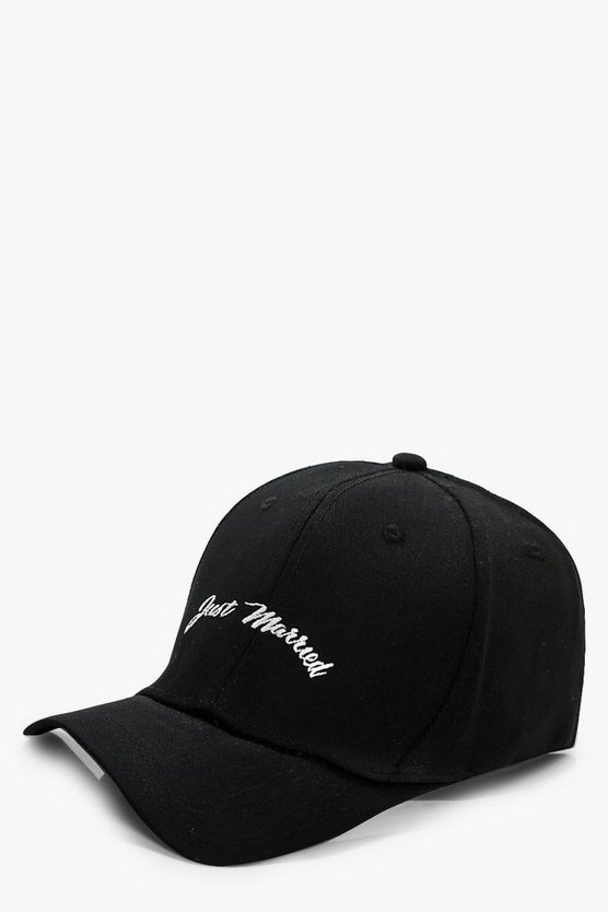 Emma Just Married Baseball Cap