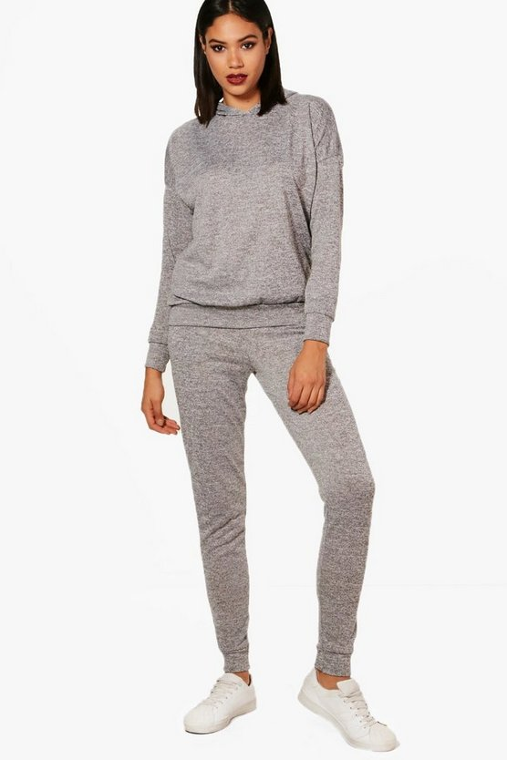 Hoody & Jogger Knitted Loungewear Set