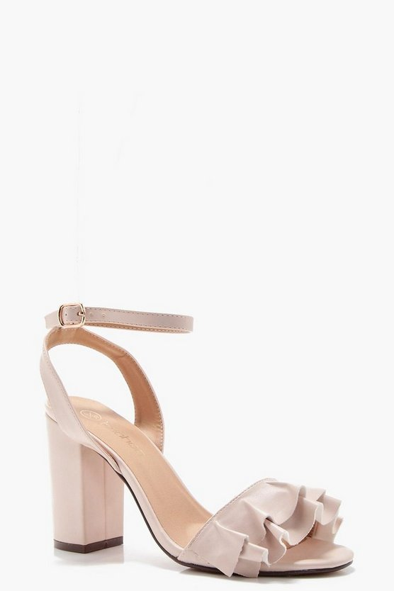 Darcy Wide Fit Detail Block Heel