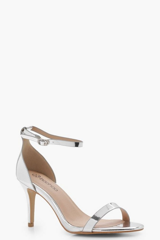 Frankie Metallic Two Part Heels