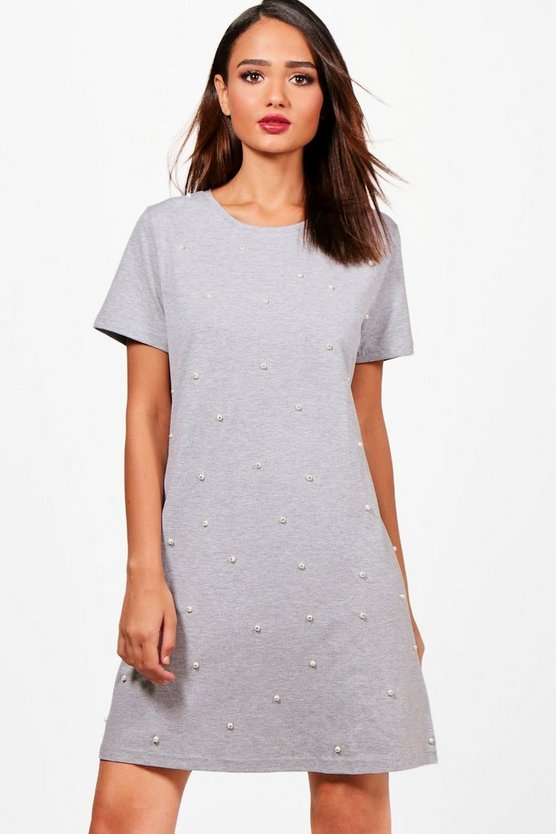 Jaclyn Pearl T-Shirt Dress