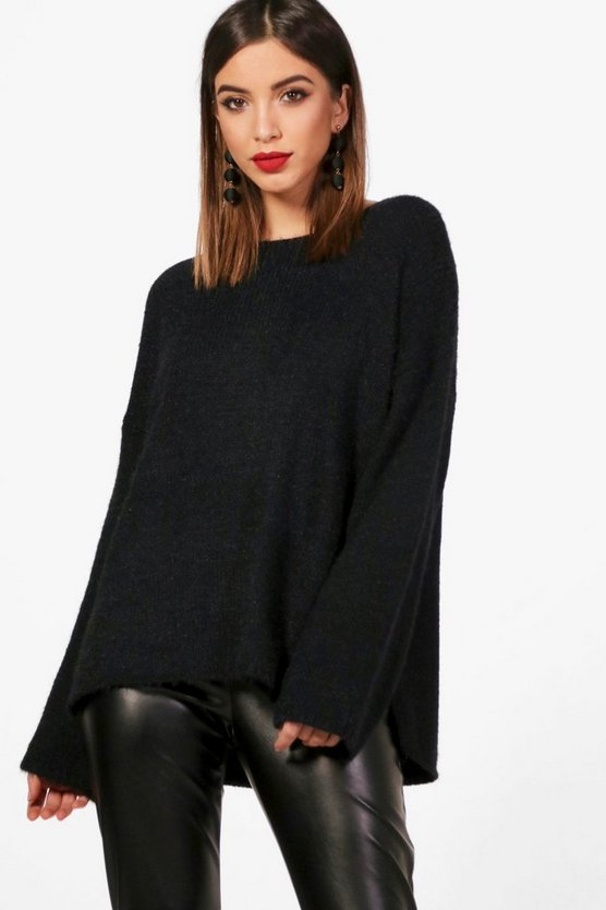Holly Oversized Fluffy Jumper