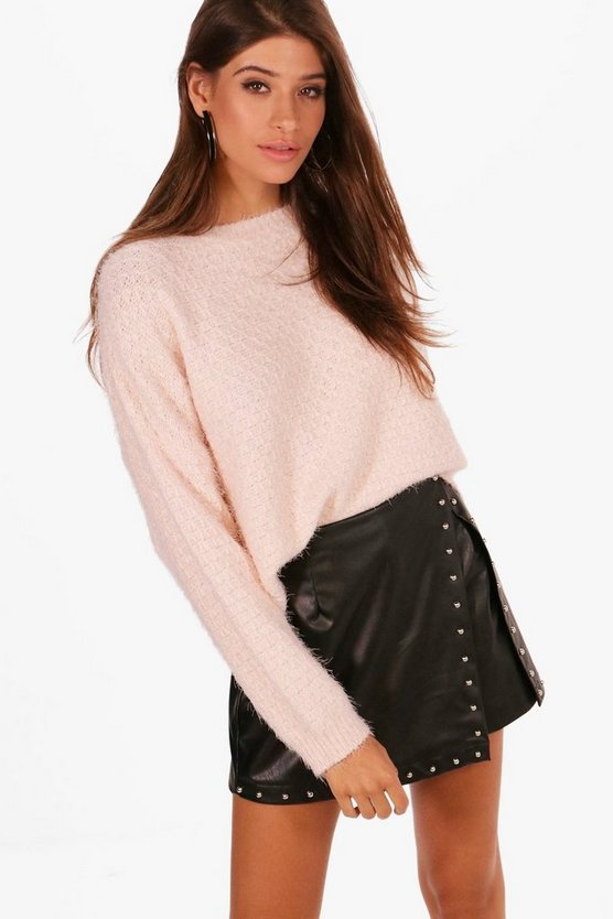 Lily Crop Eyelash Jumper