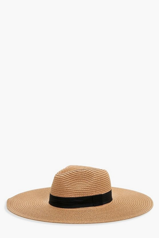 Lauren Oversized Floppy Fedora
