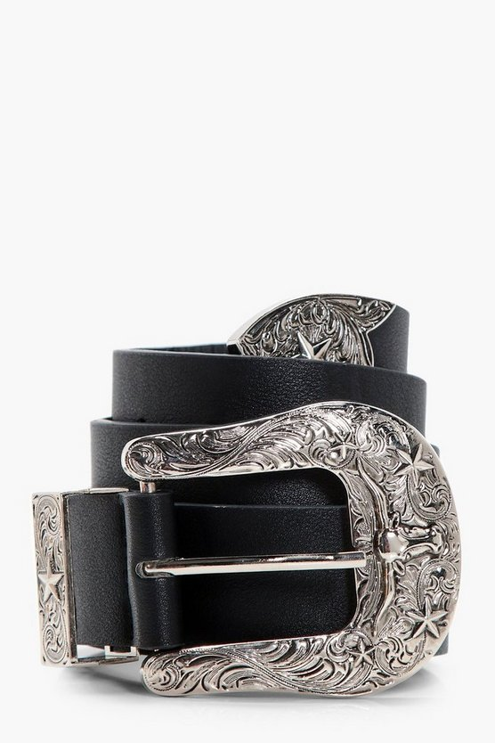 Lauren Star Detail Western Belt