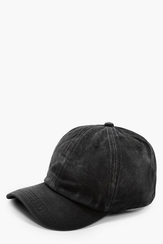Sarah Washed Denim Cap