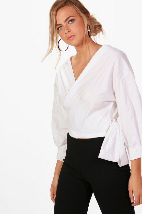 Anna Wrap Over Shirt