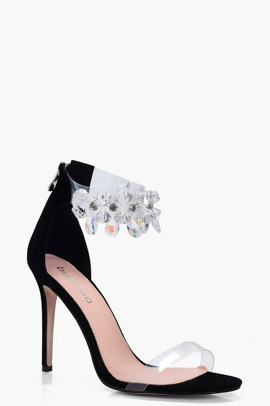 Freya Jewel Embellished 2 Part Heel