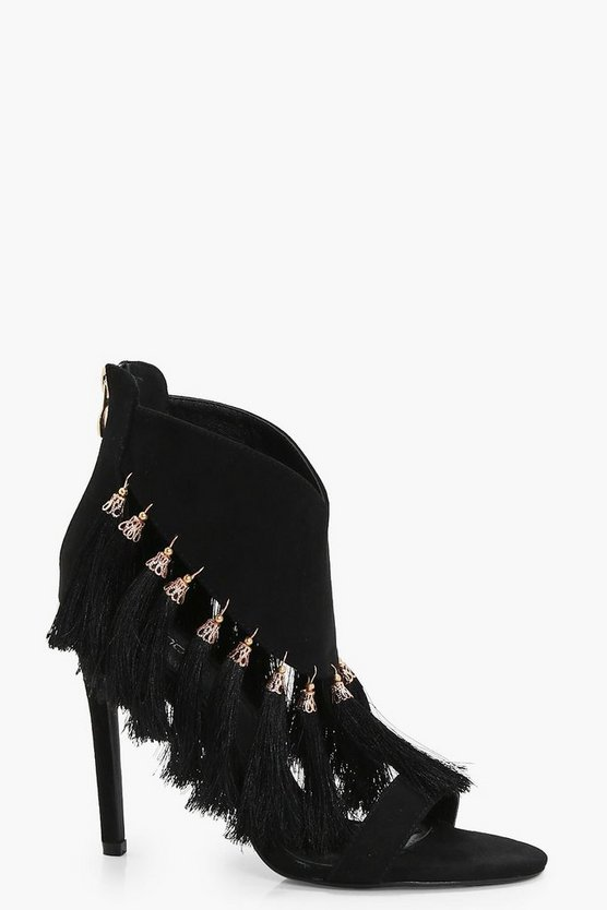 Premium Isla Tassel Trim Stiletto