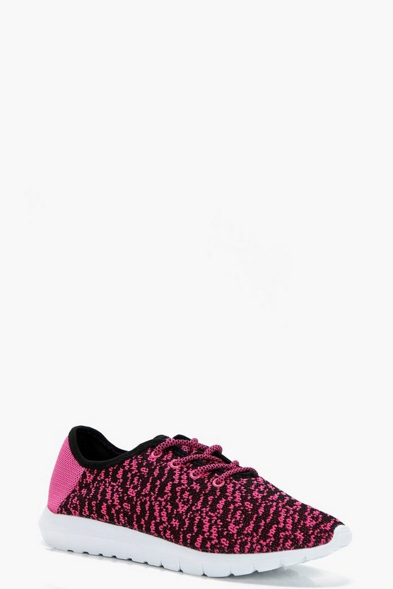 Sophie Knitted Sports Trainers
