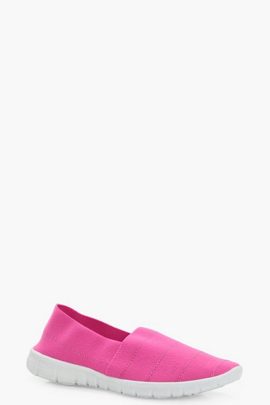 Melissa Elastic Stretch Slip on Pumps