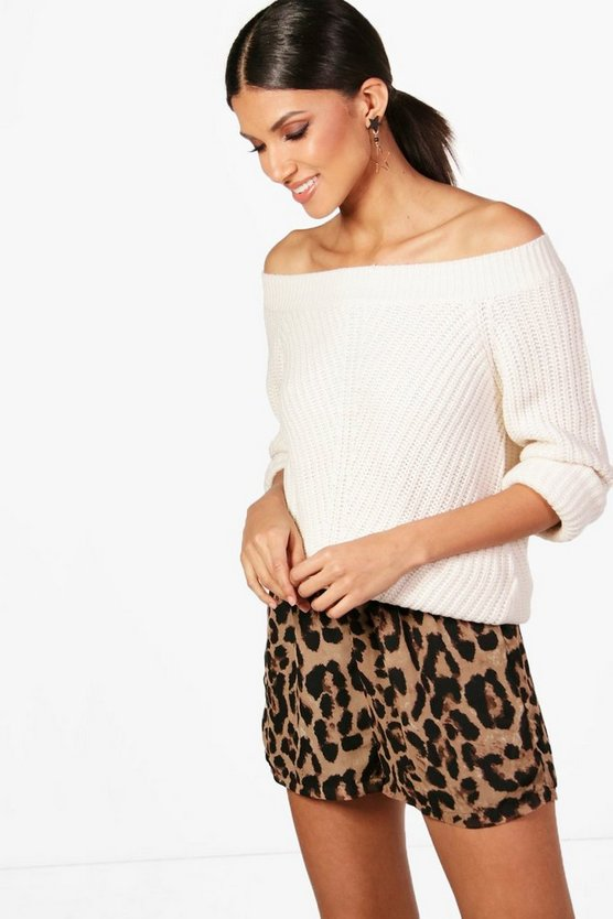 Nadia Off The Shoulder Jumper