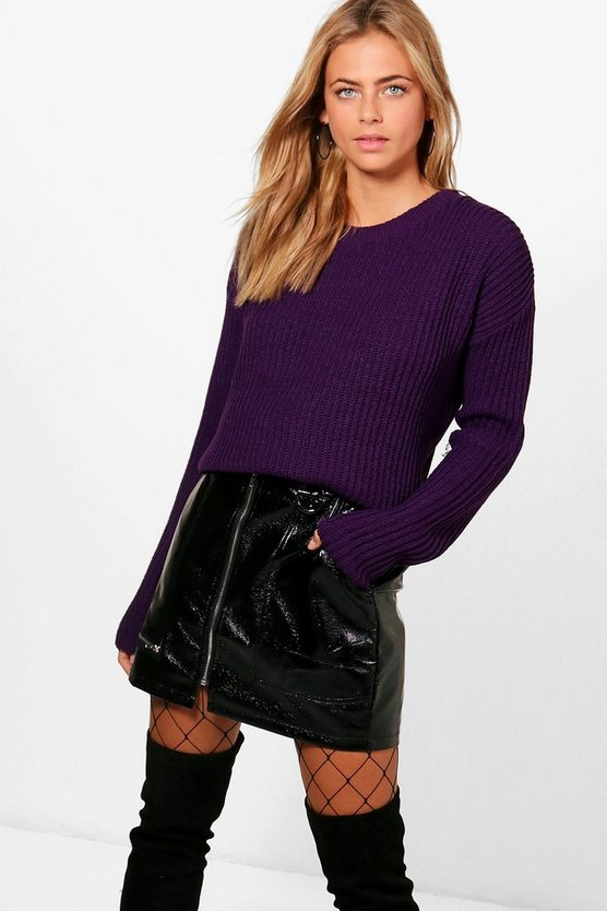 Hannah Fisherman Rib Jumper