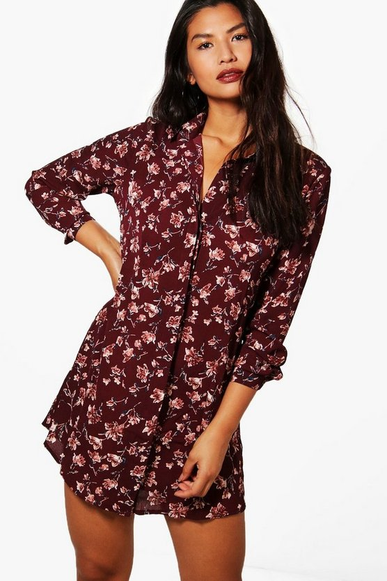 Jemima Floral Shirt Dress
