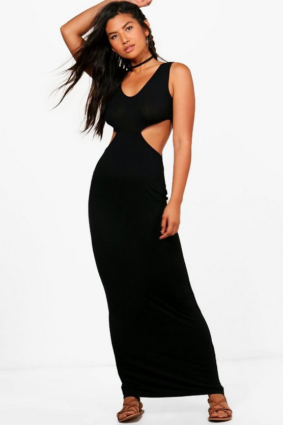 Rosie Cut Out Side Maxi Dress