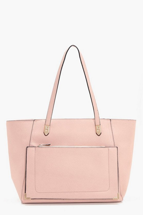 Maysie Front Pocket Tote